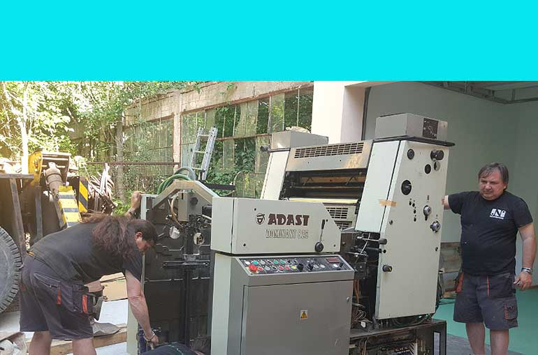 Neomash Used printing Equipment- machines